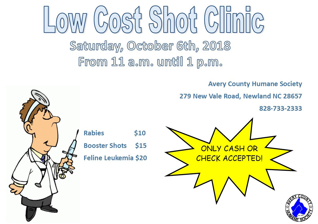 Low Cost Shot Clinic10_18